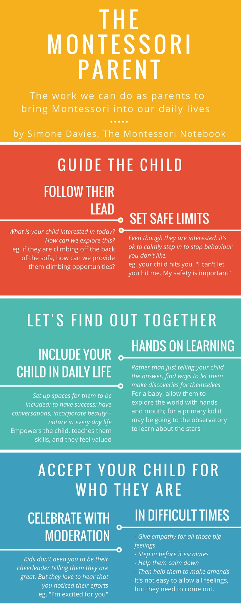 The 3 Pillars To Being A Montessori Parent