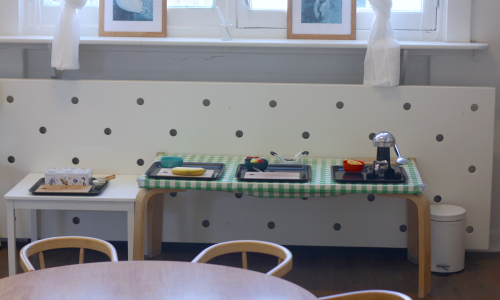 Montessori kitchen