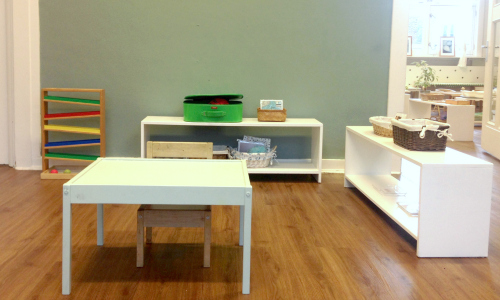 Montessori language corner