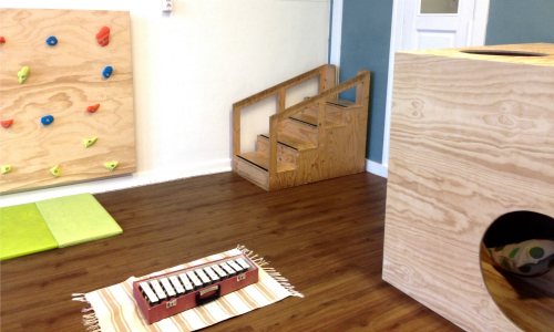 Montessori movement area
