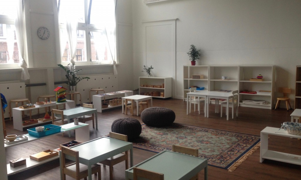 Montessori toddler classroom in Amsterdam