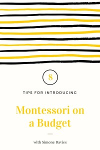 Yes, you can Montessori on a budget!