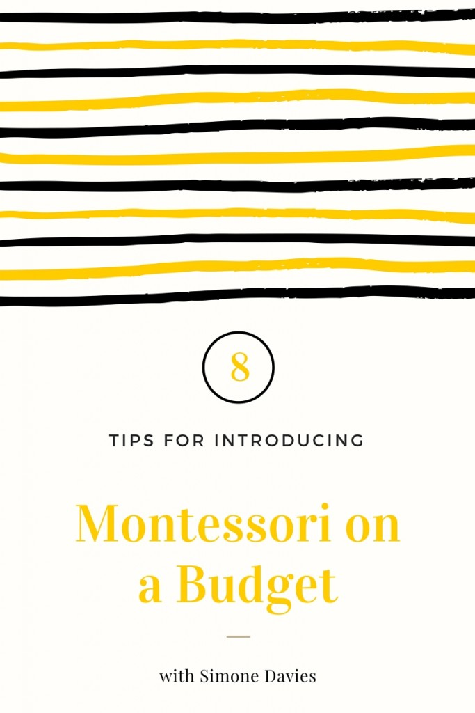 Montessori on a budget www.themontessorinotebook.com