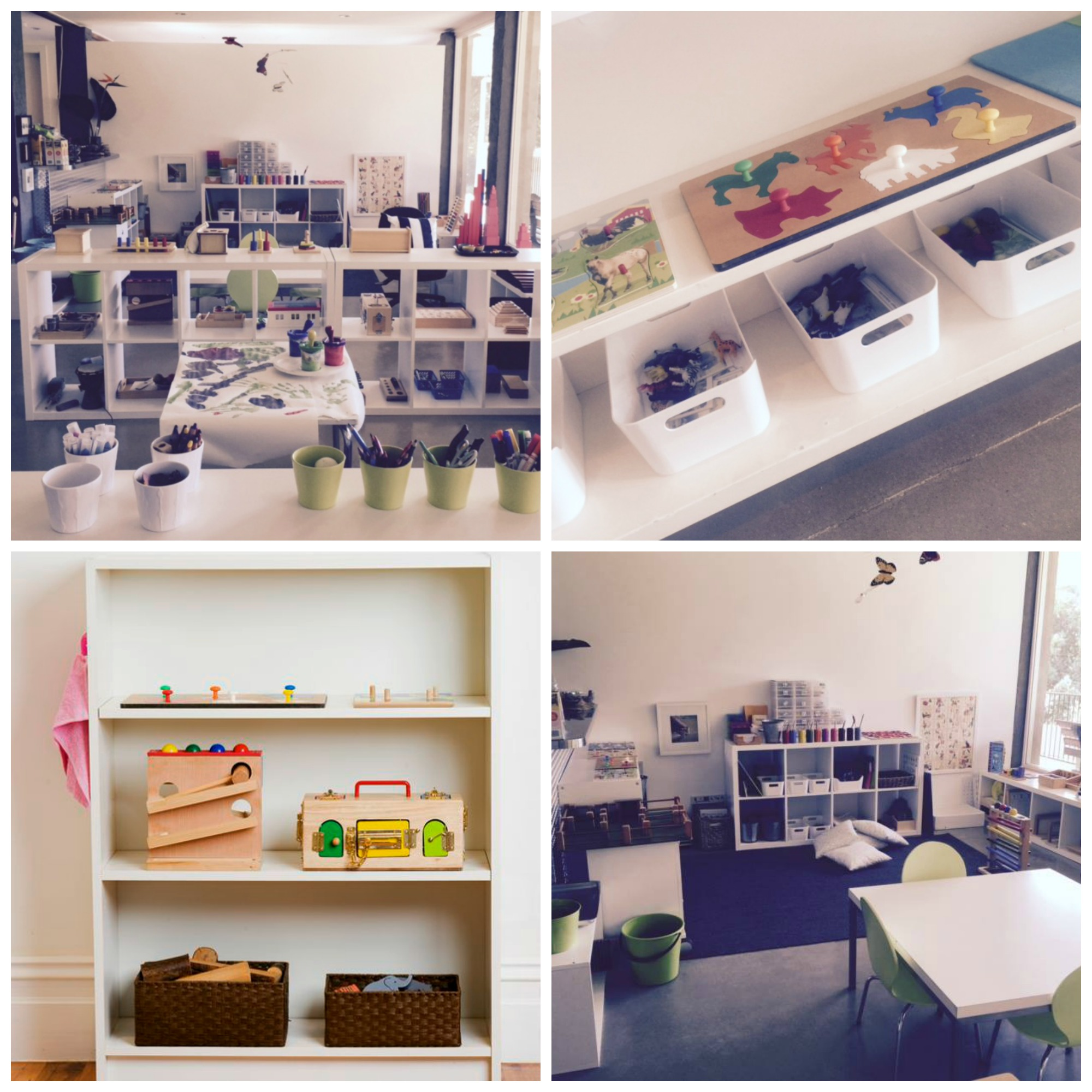 Montessori Classroom Wall Design ~ See how to be inspired by this classroom the montessori