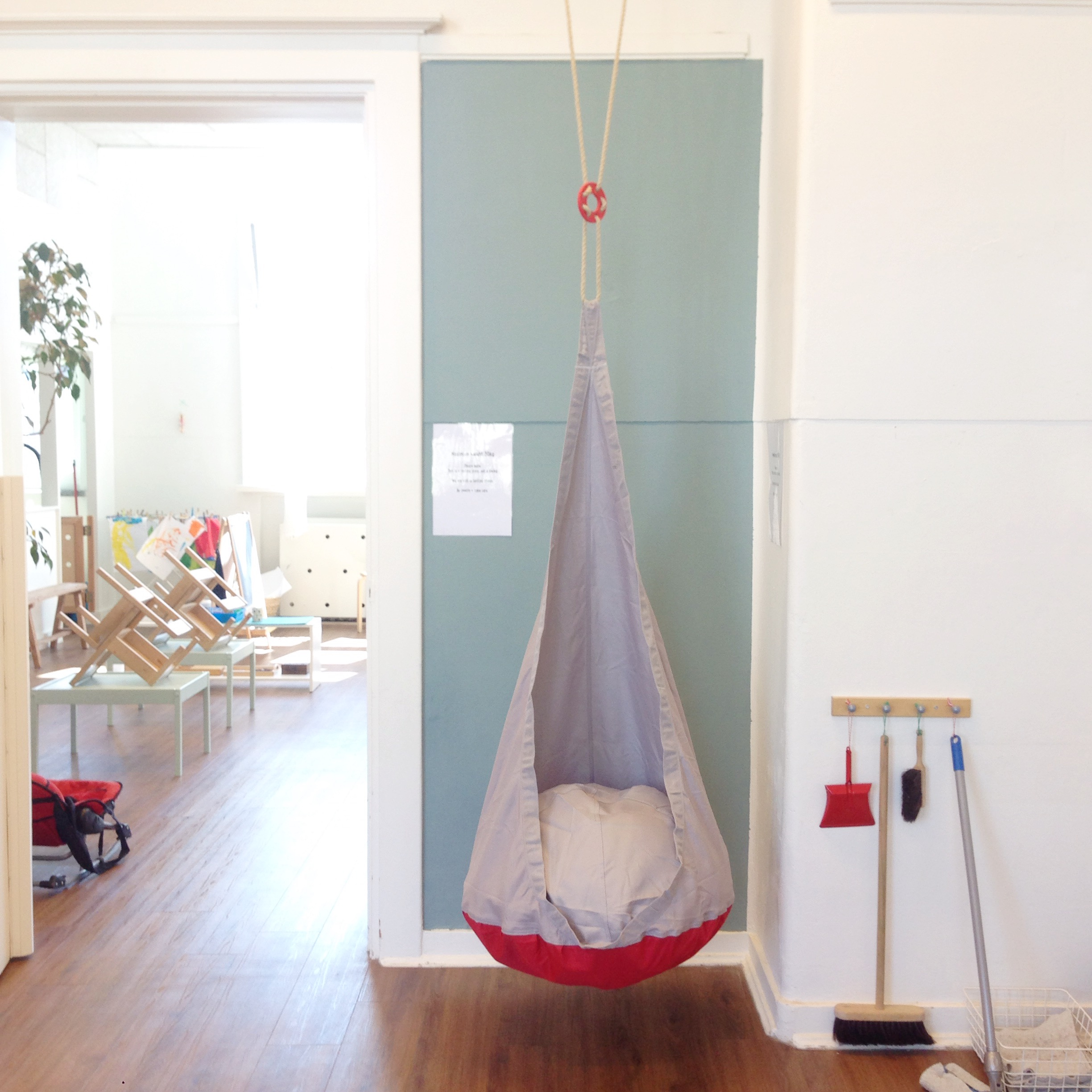 Hanging Chair In The Classroom By Simone Davies Of Themontessorinotebook