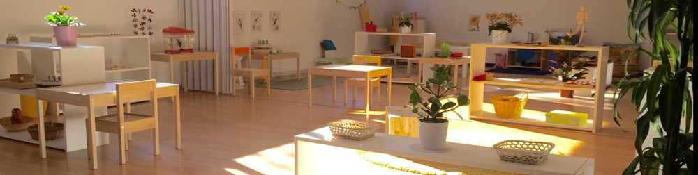 Montessori classroom in Spain
