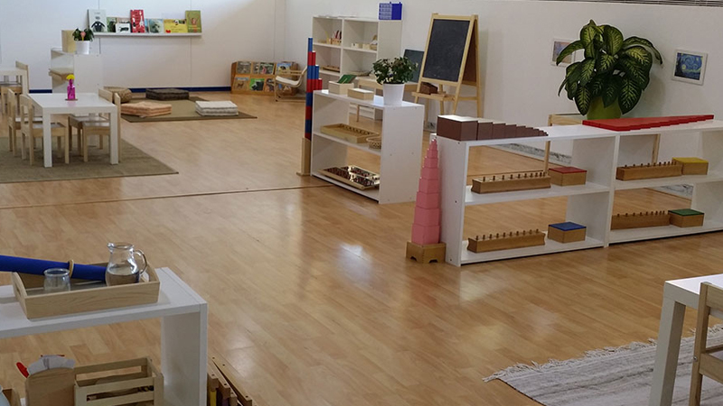 10 simple ideas to steal from these amazing montessori for Ikea daycare furniture