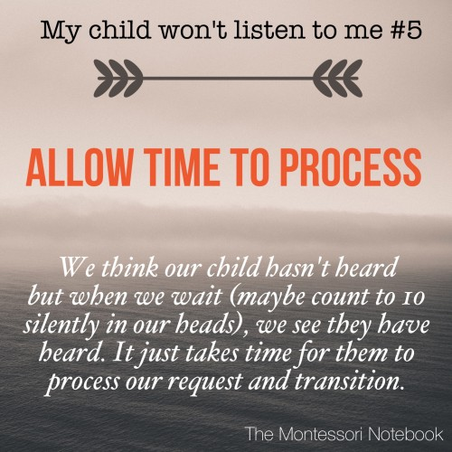 My child won't listen to me - a series by Simone Davies