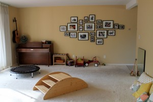 Montessori living room