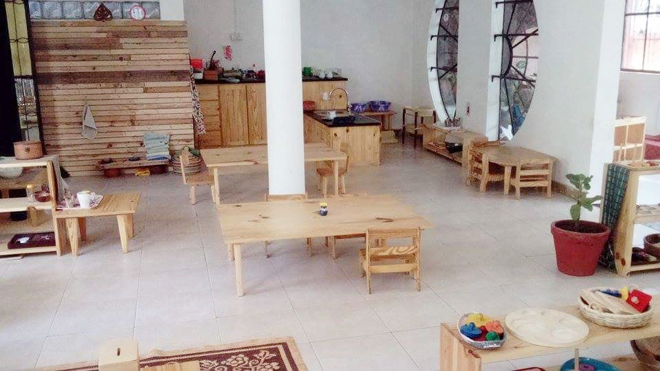 Montessori infant community Montessori classroom Gambia