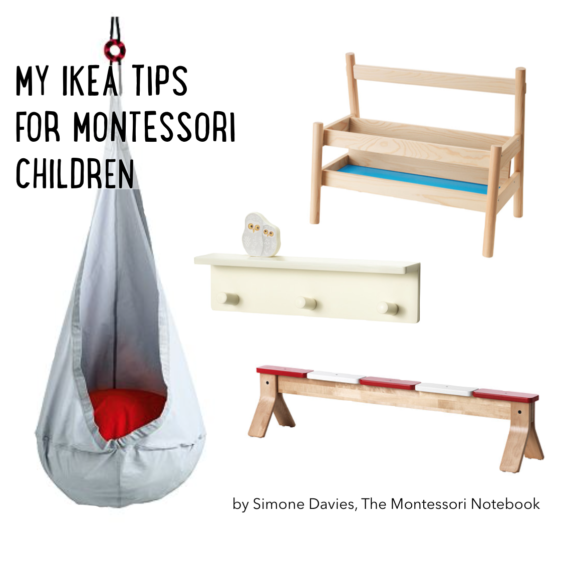 my ikea tips for Montessori children by Simone Davies, The Montessori Notebook