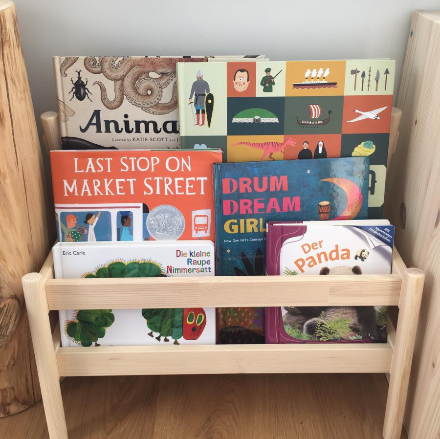 Montessori books IKEA