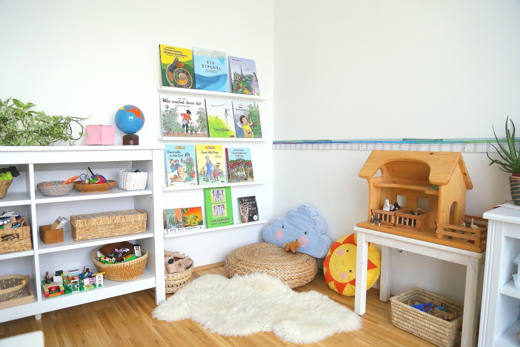 Montessori book area