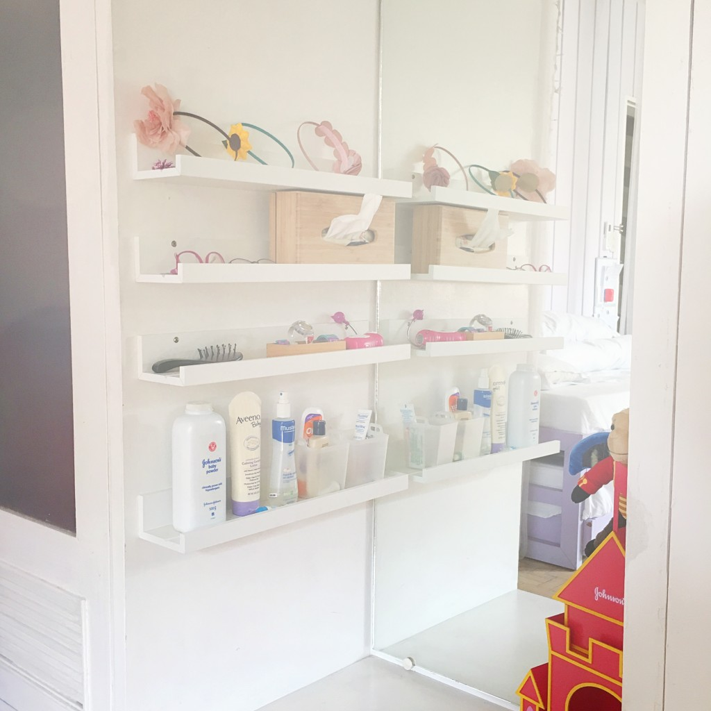 Changing area -Montessori home tour - DIY Corporate Mom