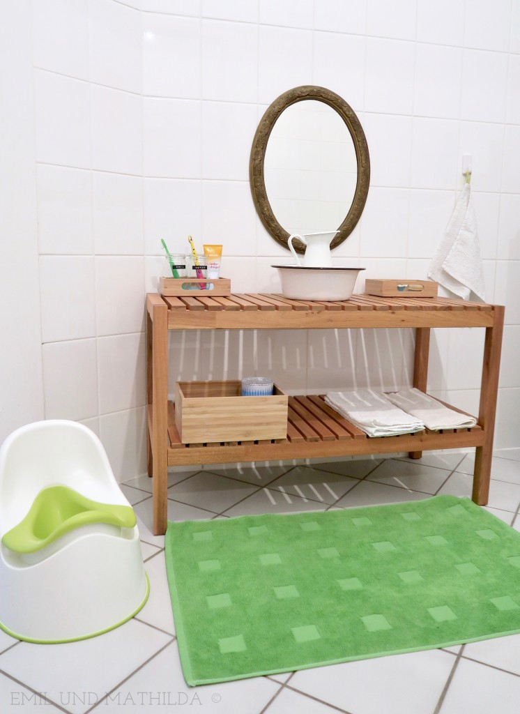 Montessori bathroom