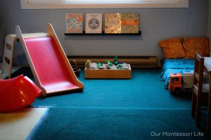 SUMMER SERIES: Montessori home tour #3 – a peek inside Our Montessori Life's home in Canada