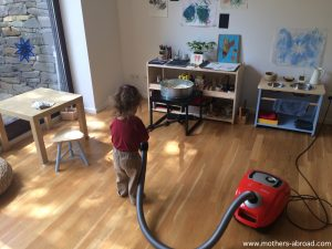 Montessori home tour – a peek inside the home of Cristina (aka Mothers Abroad) currently based in Germany