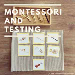 """Montessori and testing: why do we keep asking """"What colour is this?"""" and other questions to test our child?"""