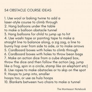 54 obstacle course ideas