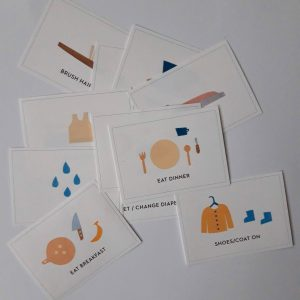 Get your free Montessori routine cards