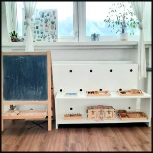 Montessori activities for 2 years to 2 years 3 months